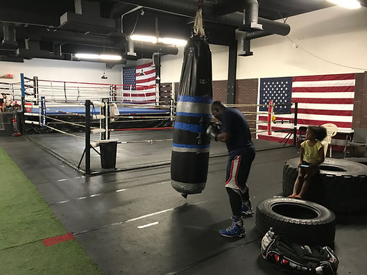 Bowe Van Damme | Fitness boxing | Las Vegas | City Boxing Club
