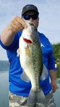 Man holding fish
