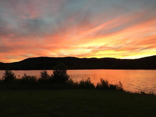 Evening scenery