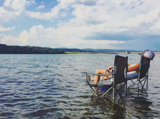 Lakeside relaxation