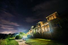 Night View of the Inn