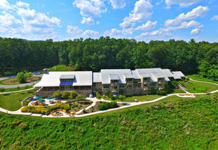 Arial view of the Nature Inn