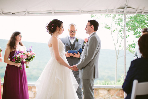 Receiving vows