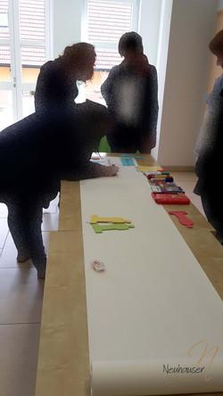 Workshop mit Timeline-Arbeit