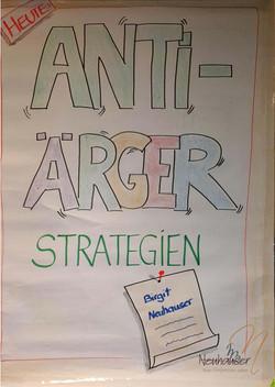 Workshop Anti-Ärger-Strategien