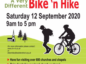 Bike 'n Hike - Saturday 12 September 2020