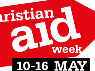 Please help us by donating to Christian Aid Week