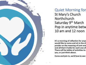 Quiet Morning for Lent