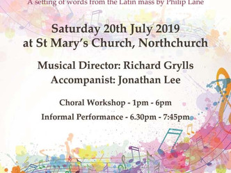 SING: Monteverdi and Mussorgsky at St Mary's - 2019 Choral Workshop on Saturday July 20th