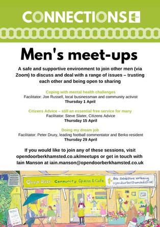 Connections - Men's Meet Ups