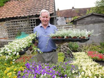 Markyate Plant Sale celebrates Hospice's 40th Birthday!