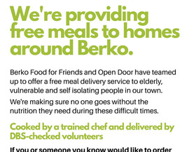 Free meals for homes around Berkhamsted