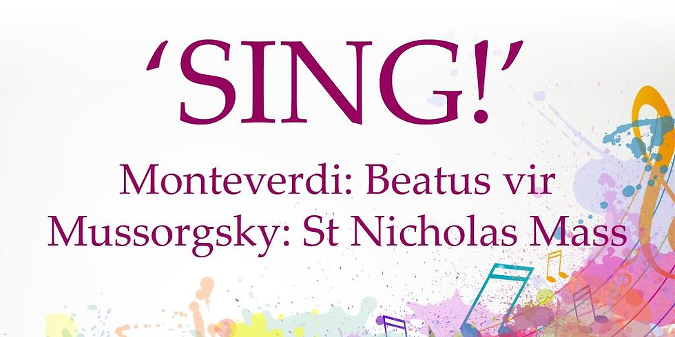SING: Monteverdi and Mussorgsky at St Mary's - 2019 Choral Workshop