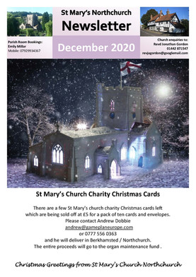 December 2020 Parish Newsletter