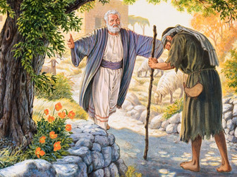 Parable of the Prodigal Son or the Running Father