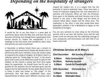 December Parish Newsletter