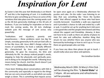March 2019 Parish Newsletter