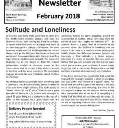 February Parish Newsletter