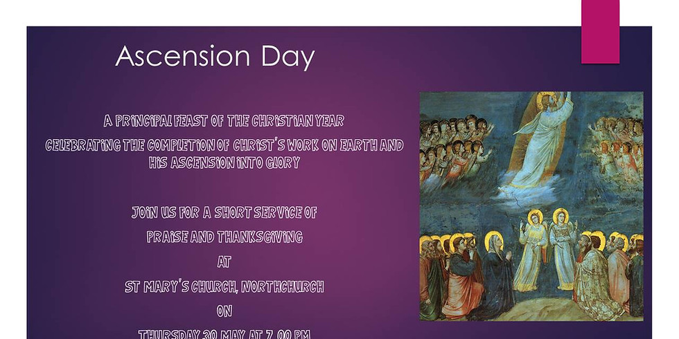 St Mary's Ascension Day Service