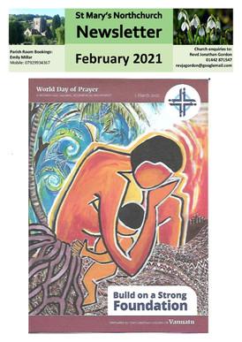 February 2021 Parish Newsletter