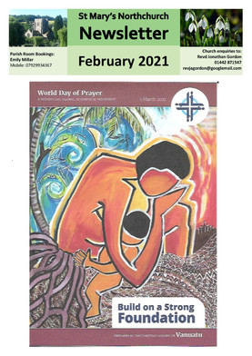 February 2021 Parish Newsletter