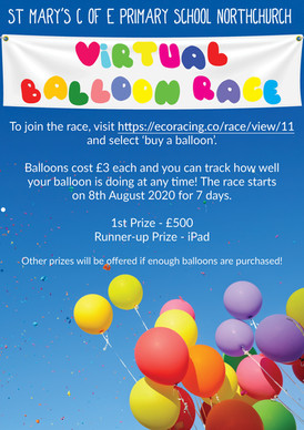 St Mary's School Association - Virtual Balloon Race