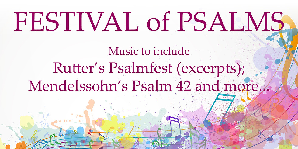 Festival of Psalms at St Mary's Northchurch - 2020 Choral Workshop