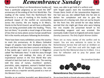 November Parish Newsletter