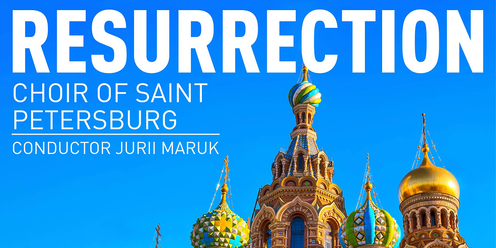The Choir of St Petersburg LIVE at St Mary's Northchurch