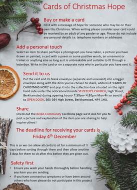 Cards of Christmas Hope