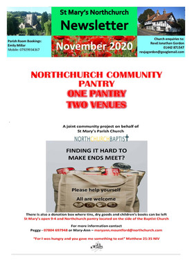 November 2020 Parish Newsletter