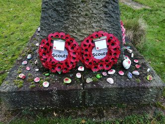 Thank you to everyone who painted a poppy for Remembrance Day