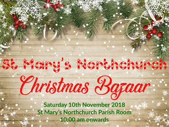Join us at the St Mary's Northchurch Christmas Bazaar on Saturday 10th November!
