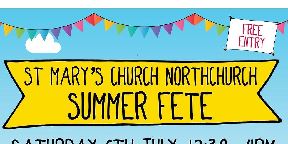 St Mary's Church Northchurch Summer Fete