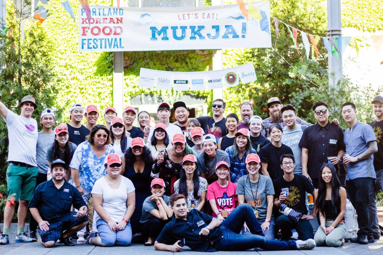 Korean American Food Festival's Volunteers