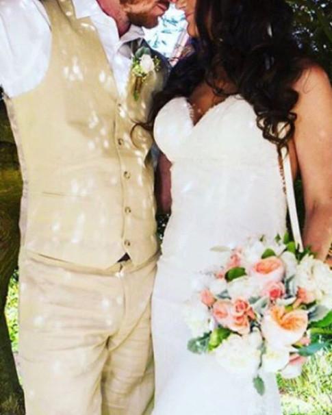 Lush Bride's Bouquet