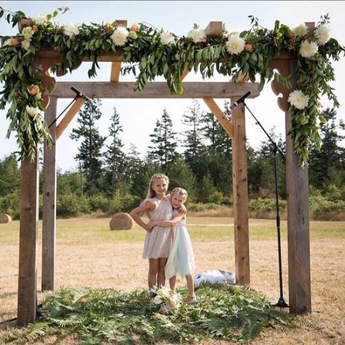 Wedding Arch Swag