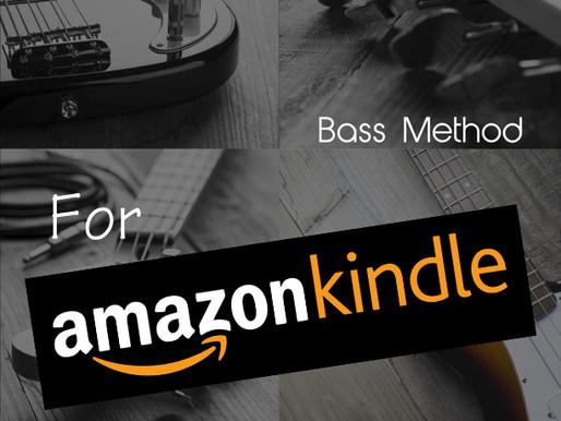 Beginner Series: Bass Method on Kindle!
