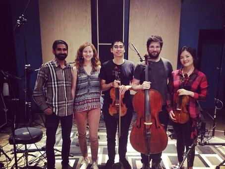 Back in the Studio with Cattus Quartet