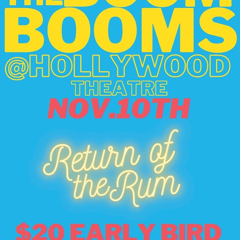 The Boom Booms @ Hollywood Theatre