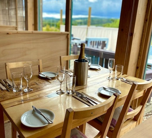 bistro booth banchory to eat socially distanced