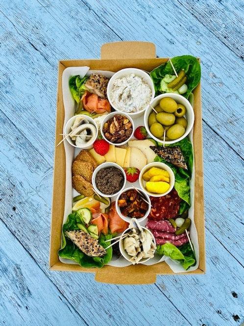 Sociable sharing platter for two