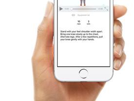 Jouw persoonlijke oefenprogramma via een app