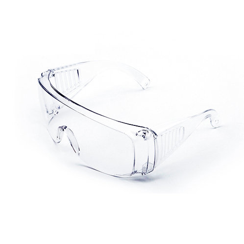 Clear Polycarb Safety Glasses