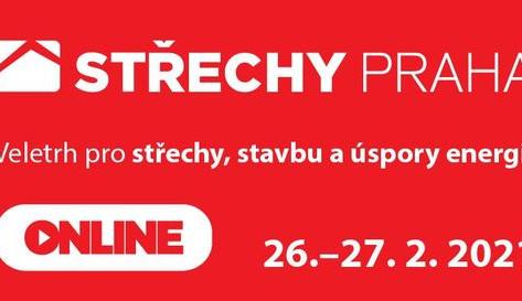 Na Veletrh Střechy Praha letos ONLINE a zdarma