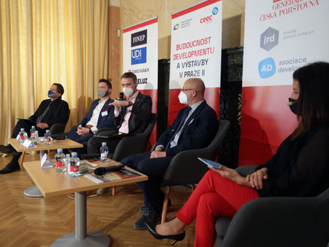 Budoucnost developmentu a výstavby v Praze II