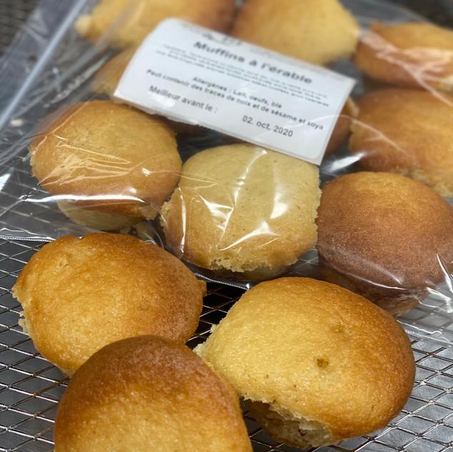 Muffin à l'érable