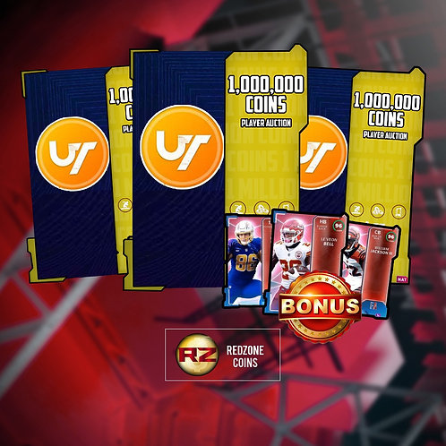 1 Million Coins Free Agency Frenzy Offer - Madden 21 Ultimate Team Coins