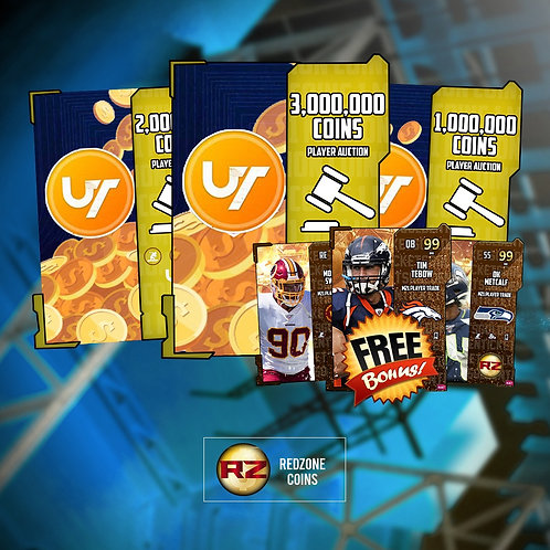 1 Million Coins Special+ FREE Random 99 OVR GT- Madden Ultimate Team