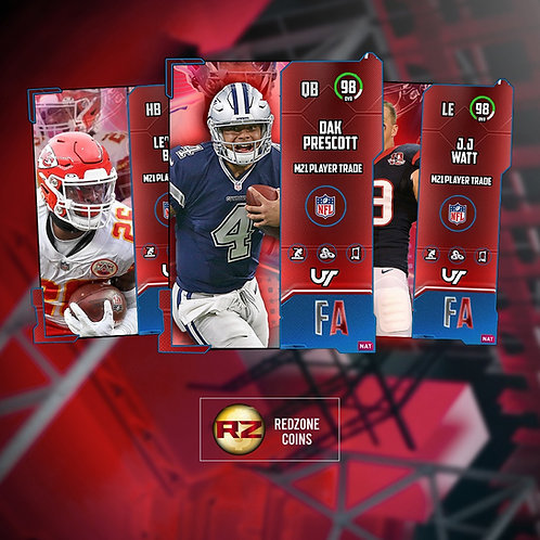 96 - 98 OVR Free Agency Players- Madden 21 Ultimate Team